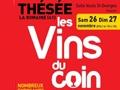 Les Vins du Coin à Thésée, les 26 et 27 novembre 2016