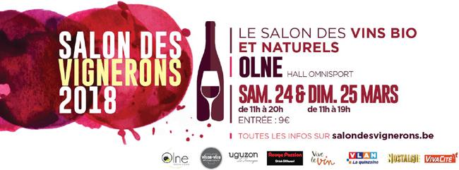 Salon des Vignerons de Olne les 24 et 25 mars 2018