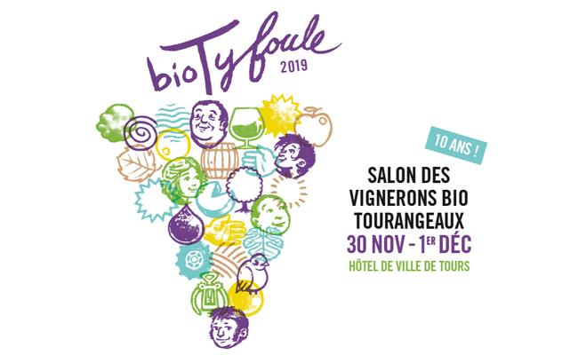 En 21019, le salon des vignerons bio Biotyfoule fête ses 10 ans