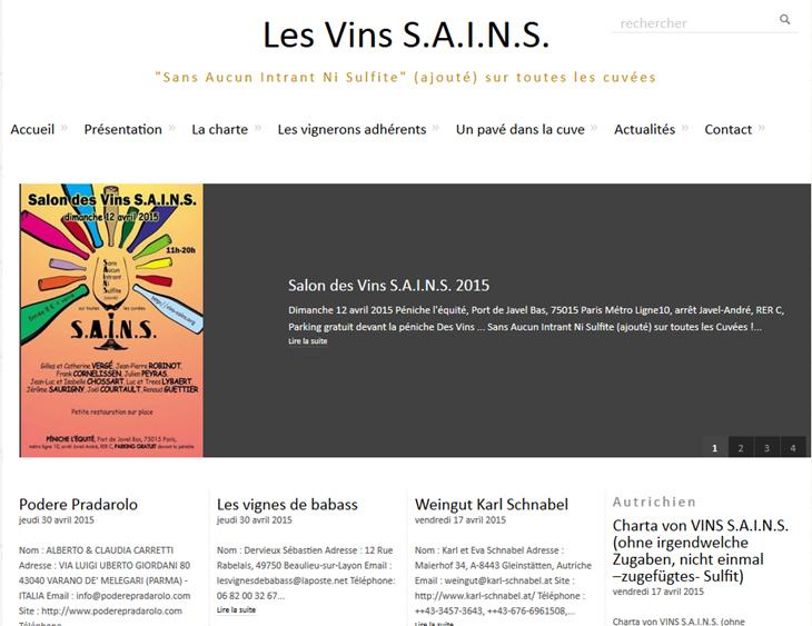 Les Vins S.A.I.N.S.